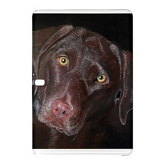 Inquisitive Chocolate Lab Samsung Galaxy Tab Pro 12.2 Hardshell Case