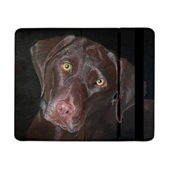 Inquisitive Chocolate Lab Samsung Galaxy Tab Pro 8 4  Flip Case