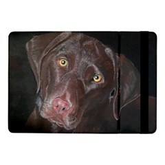 Inquisitive Chocolate Lab Samsung Galaxy Tab Pro 10 1  Flip Case