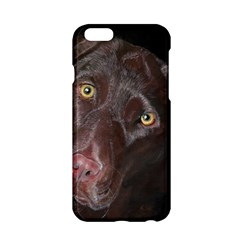 Inquisitive Chocolate Lab Apple iPhone 6 Hardshell Case