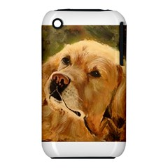 Golden Retriever Apple iPhone 3G/3GS Hardshell Case (PC+Silicone)