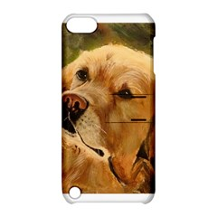 Golden Retriever Apple Ipod Touch 5 Hardshell Case With Stand