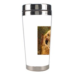 Golden Retriever Stainless Steel Travel Tumbler