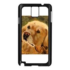Golden Retriever Samsung Galaxy Note 3 N9005 Case (Black)