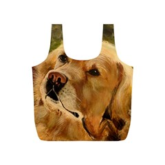 Golden Retriever Reusable Bag (S)