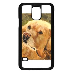 Golden Retriever Samsung Galaxy S5 Case (Black)