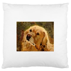 Golden Retriever Standard Flano Cushion Case (Two Sides)