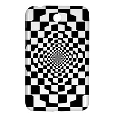 Checkered Flag Race Winner Mosaic Tile Pattern Repeat Samsung Galaxy Tab 3 (7 ) P3200 Hardshell Case