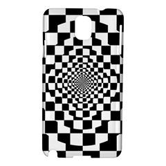 Checkered Flag Race Winner Mosaic Tile Pattern Repeat Samsung Galaxy Note 3 N9005 Hardshell Case