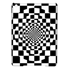 Checkered Flag Race Winner Mosaic Tile Pattern Repeat Apple iPad Air Hardshell Case