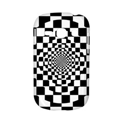 Checkered Flag Race Winner Mosaic Tile Pattern Repeat Samsung Galaxy S6810 Hardshell Case