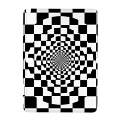 Checkered Flag Race Winner Mosaic Tile Pattern Repeat Samsung Galaxy Note 10.1 (P600) Hardshell Case