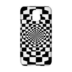 Checkered Flag Race Winner Mosaic Tile Pattern Repeat Samsung Galaxy S5 Hardshell Case