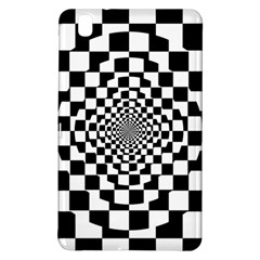 Checkered Flag Race Winner Mosaic Tile Pattern Repeat Samsung Galaxy Tab Pro 8.4 Hardshell Case