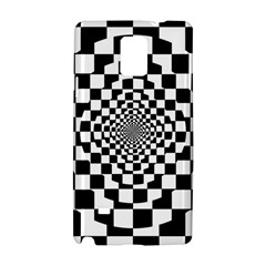 Checkered Flag Race Winner Mosaic Tile Pattern Repeat Samsung Galaxy Note 4 Hardshell Case