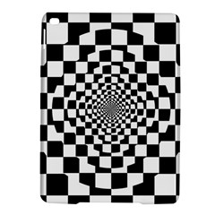Checkered Flag Race Winner Mosaic Tile Pattern Repeat Apple iPad Air 2 Hardshell Case
