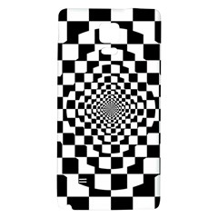Checkered Flag Race Winner Mosaic Tile Pattern Repeat Samsung Note 4 Hardshell Back Case