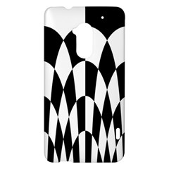 Checkered Flag Race Winner Mosaic Pattern Curves  HTC One Max (T6) Hardshell Case