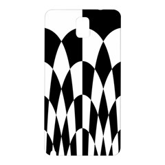 Checkered Flag Race Winner Mosaic Pattern Curves  Samsung Galaxy Note 3 N9005 Hardshell Back Case