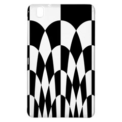 Checkered Flag Race Winner Mosaic Pattern Curves  Samsung Galaxy Tab Pro 8.4 Hardshell Case