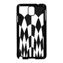 Checkered Flag Race Winner Mosaic Pattern Curves  Samsung Galaxy Note 3 Neo Hardshell Case (Black)