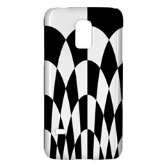 Checkered Flag Race Winner Mosaic Pattern Curves  Samsung Galaxy S5 Mini Hardshell Case