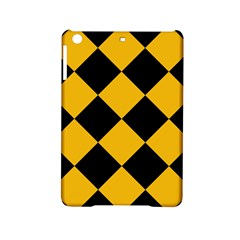 Harlequin Diamond Gold Black Apple iPad Mini 2 Hardshell Case