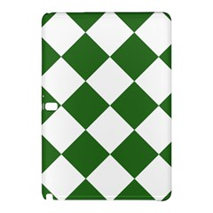 Harlequin Diamond Green White Samsung Galaxy Tab Pro 12.2 Hardshell Case