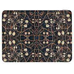 Victorian Style Grunge Pattern Samsung Galaxy Tab 7  P1000 Flip Case