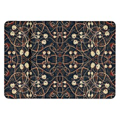 Victorian Style Grunge Pattern Samsung Galaxy Tab 8 9  P7300 Flip Case