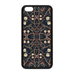 Victorian Style Grunge Pattern Apple Iphone 5c Seamless Case (black)