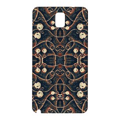 Victorian Style Grunge Pattern Samsung Galaxy Note 3 N9005 Hardshell Back Case