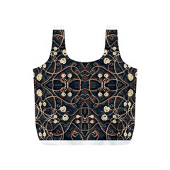 Victorian Style Grunge Pattern Reusable Bag (s)