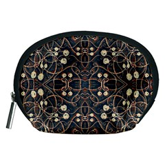 Victorian Style Grunge Pattern Accessory Pouch (Medium)