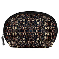 Victorian Style Grunge Pattern Accessory Pouch (Large)