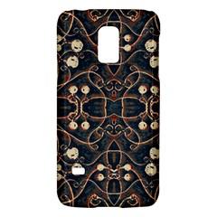 Victorian Style Grunge Pattern Samsung Galaxy S5 Mini Hardshell Case