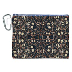 Victorian Style Grunge Pattern Canvas Cosmetic Bag (XXL)