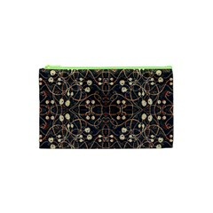 Victorian Style Grunge Pattern Cosmetic Bag (XS)