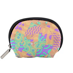 Tropical Summer Fruit Orange Lime Berry Accessory Pouch (Small)