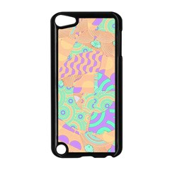 Tropical Summer Fruit Orange Lime Berry Apple iPod Touch 5 Case (Black)
