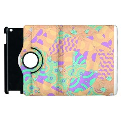 Tropical Summer Fruit Orange Lime Berry Apple iPad 2 Flip 360 Case