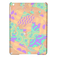 Tropical Summer Fruit Orange Lime Berry Apple iPad Air Hardshell Case