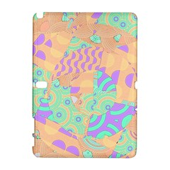 Tropical Summer Fruit Orange Lime Berry Samsung Galaxy Note 10.1 (P600) Hardshell Case