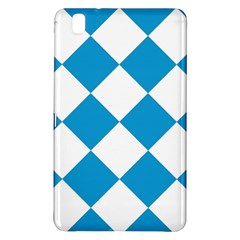 Harlequin Diamond Argyle Turquoise Blue White Samsung Galaxy Tab Pro 8 4 Hardshell Case