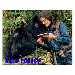 Dian Fossey Puzzle Jigsaw Puzzle (rectangle)