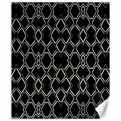 Geometric Abstract Pattern Futuristic Design  Canvas 8  x 10  (Unframed)