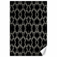 Geometric Abstract Pattern Futuristic Design  Canvas 20  X 30  (unframed)