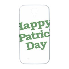 Happy St Patricks Text With Clover Graphic Samsung Galaxy S4 I9500/I9505  Hardshell Back Case