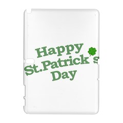 Happy St Patricks Text With Clover Graphic Samsung Galaxy Note 10 1 (p600) Hardshell Case
