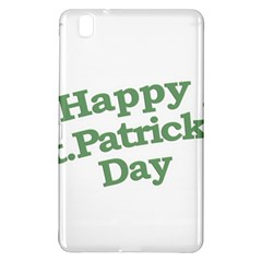 Happy St Patricks Text With Clover Graphic Samsung Galaxy Tab Pro 8.4 Hardshell Case